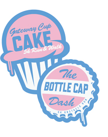 Gateway Cup Cake and Bottle Cap Dash